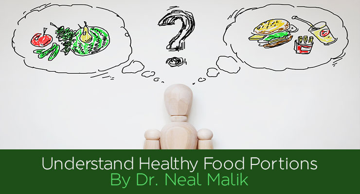 Reference Guide to Healthy Food Portions